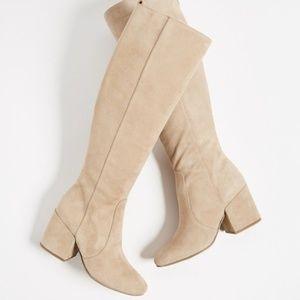 NWT Sam Edelman Thora Tall Boots Oatmeal